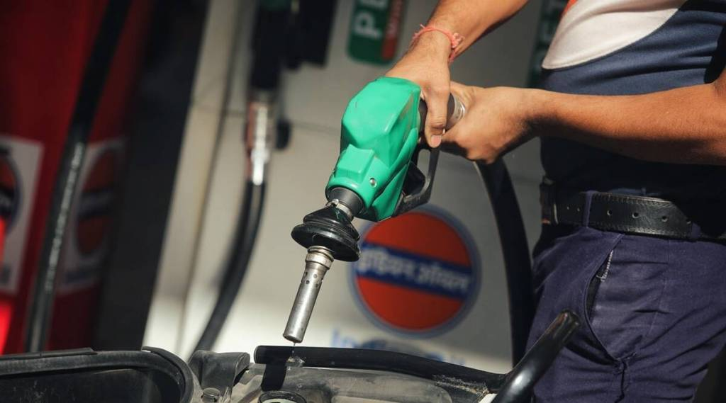 fuel consumption down