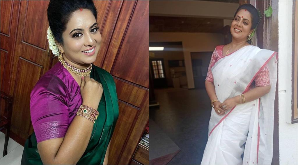 barathi kannamma seiral, barathi kannamma seiral actress rupasree soundarya, rupasree celebrates birthday, பாரதி கண்ணம்மா, பாரதி கண்ணம்மா சீரியல், பாரதி கண்ணம்மா சௌந்தர்யா, பாரதி கண்ணம்மா சௌந்தர்யா பிறந்தநாள் கொண்டாட்டம், ரூபாஸ்ரீ, சௌந்தர்யா ரூபாஸ்ரீ, rupasree birthday photo goes viral, tamil entertainment news, tamil news, barathi kannamma news, tamil tv serial news