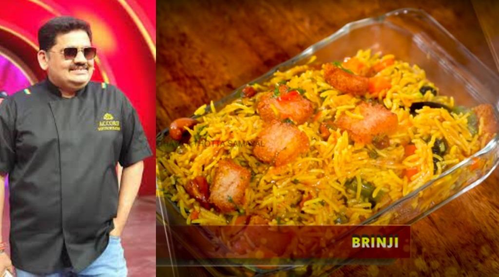 Healthy food Tamil News: Chef Venkatesh Bhat tips on Chennai style Brinji rice