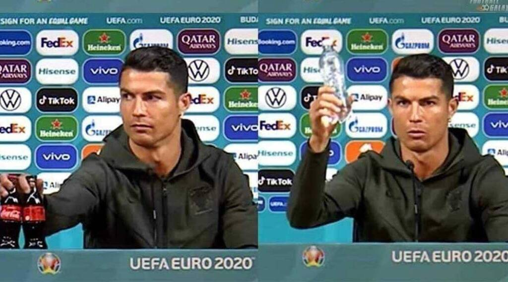 Cristiano Ronaldo Tamil News: Drink water' Ronaldo removes Coca Cola bottles during press conference; video goes viral