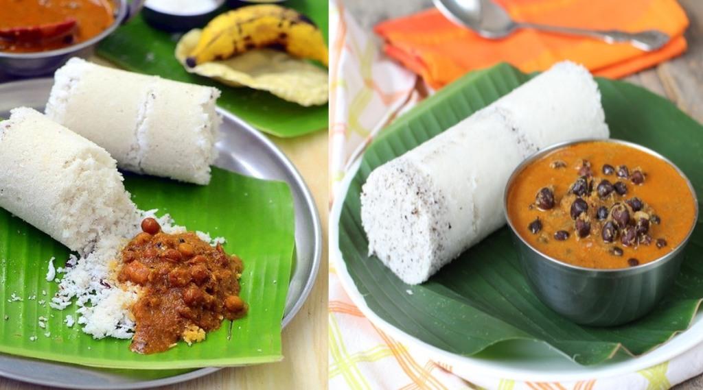 Puttu Kadala Curry Recipe in Tamil: Kerala Special Puttu Kadala Curry making in tamil
