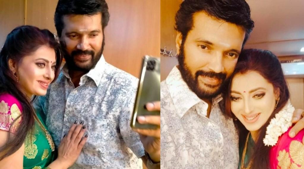 Tamil serial news: Sembaruthi actress serial priya raman and her husband ranjith wedding day photo goes viral