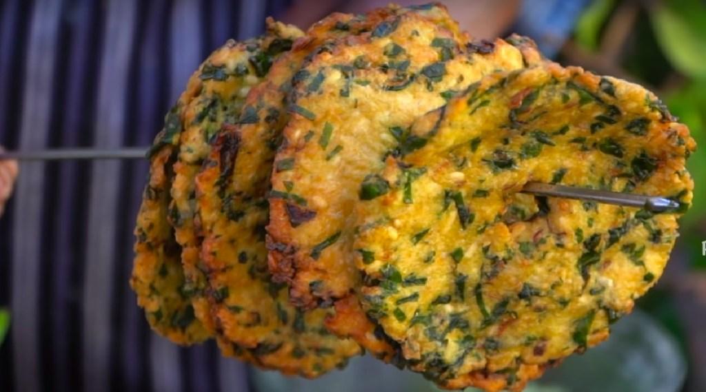 Keerai Vadai recipe in tamil: Spinach Vada making in tamil