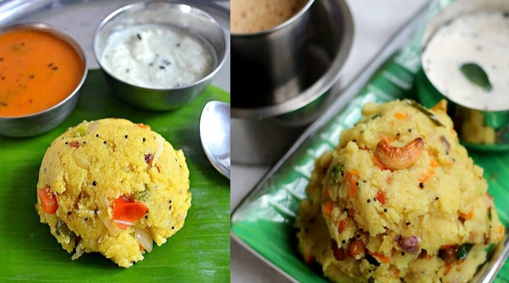 Khichdi recipe in tamil: Hotel style rava khichadi in tamil