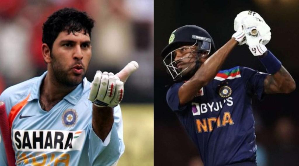 Cricket news in tamil: Yuvraj Singh names Hardik Pandya who can hit 6 in s balls