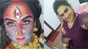 vanitha vijayakumar, vanitha, vanitha kali makeup video, வனிதா விஜயகுமார், வனிதா, வனிதா காளி மேக்அப், வனிதா காளி வீடியோ, பிபி ஜோடிகள், பிக் பாஸ் ஜோடிகள், vanitha kali mekeup photo, bb jodigal, bigg boss jodigal, vijay tv, vanitha vijayakumar latest video, vanitha latest video