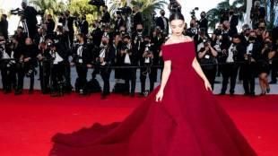 Amy Jackson 2021 cannes red carpet photos Tamil News