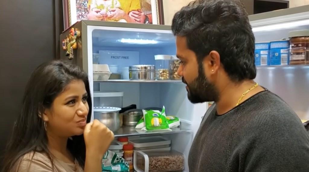 Alya Manasa SanjievFridge Tour Youtube Review Tamil News