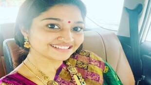 Serial Actress Neelima Rani visit to Bodyguard Muniswaran Temple Youtube Channel