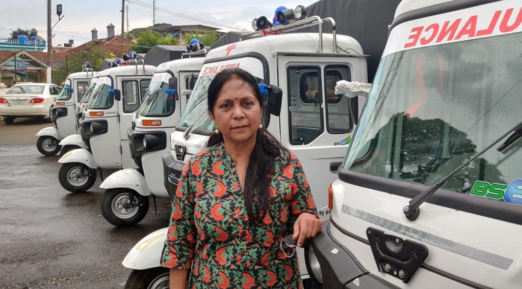 Coonoor based cafe owner brings 6 auto ambulances to Nilgiris 319817