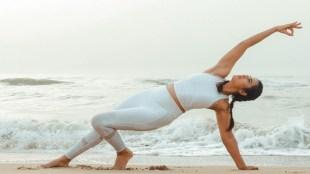 Ramya Pandian Latest Photoshoot Yoga and Benefits Tamil News