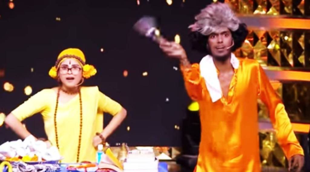 Actres Rithika, Rithika mimicry like Kovai Sarala, vijay tv, Comedy Raja Kalakkal Rani, Comedy Raja Kalakkal Rani promo video, rithika, bala, rithika performs lik kovai sarala, விஜய் டிவி, காமெடி ராஜா கலக்கல் ராணி, புரோமோ, கோவை சரளா மாதிரி மிமிக்ரி செய்த ரித்திகா, ரித்திகா, பாலா, vijay t, rithika mimicry, bala comedy, serial actress rithika