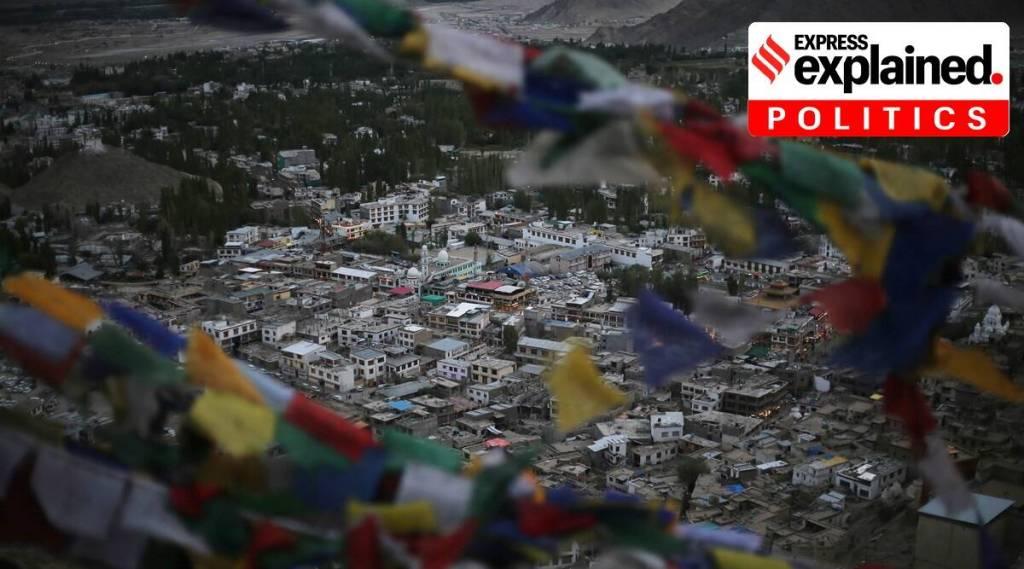 Leh, Ladakh's current status