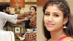 vijay tv, raja rani 2, raja rani 2 serial, saravanan shares happiness with his mummy, ராஜா ராணி 2, ராஜா ராணி 2 சீரியல், ராஜா ராணி 2 சீரியல் இன்றைய எபிசோடு, சரவணன், சிவகாமி, சந்தியா, சந்தியாவுக்கு பாயசம் ஊட்டிய சரவணன், saravanan shares happiness with sandhya, tamil tv serials, raja rani 2 serial today episode story, vijay tv serial story