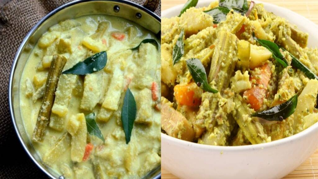 mixed vegetable curry Tamil News: easy steps to make Avial recipe tamil