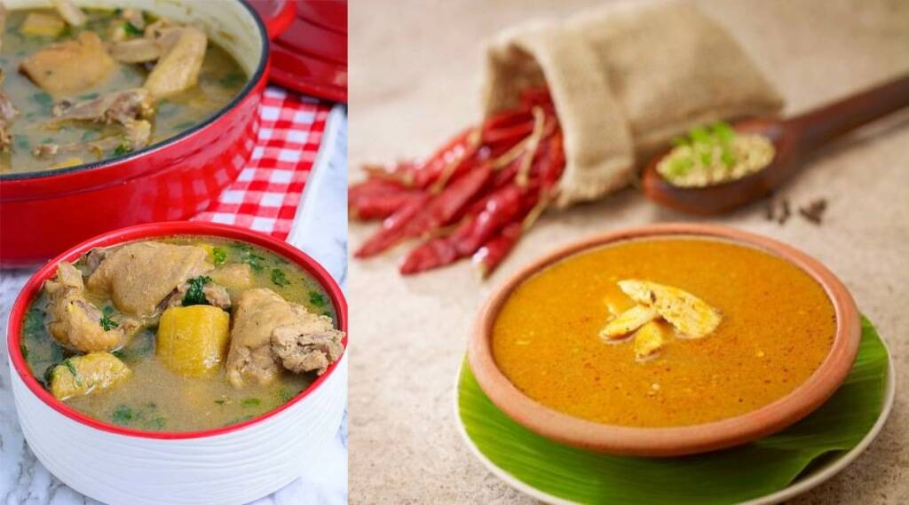 village style Naatu kozhi Rasam in tamil: how to prepare Chicken pepper soup in Tamil