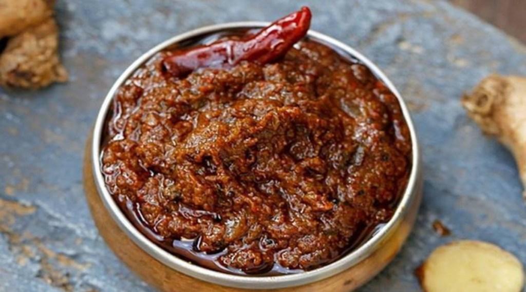 Ginger recipe in tamil: easy steps to make inji thuvaiyal recipe in tamil