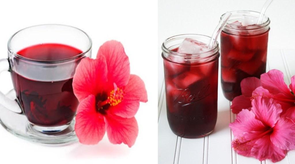 Sembaruthi Tea: Hibiscus Tea for Glowing Skin in tamil