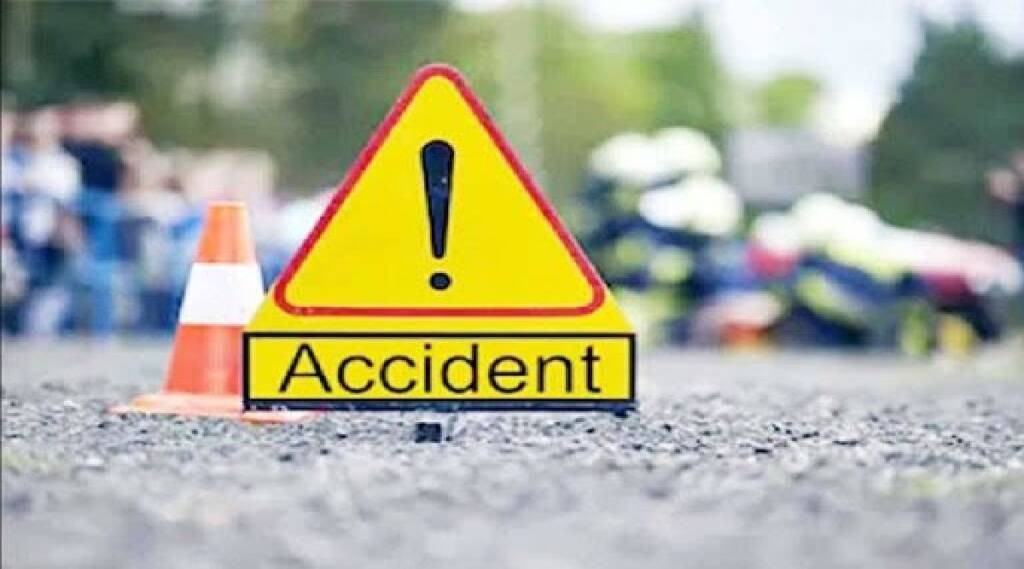 Salem news in tamil: car records hit-and-run incident on Salem-Coimbatore highway