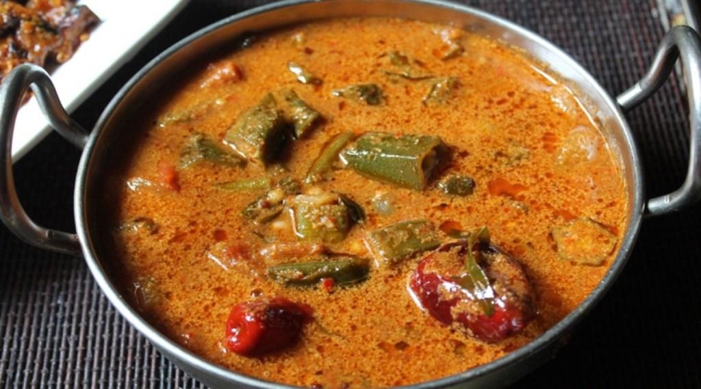 Kulambu Varieties in Tamil: Vendakkai Puli Kulambu making in tamil
