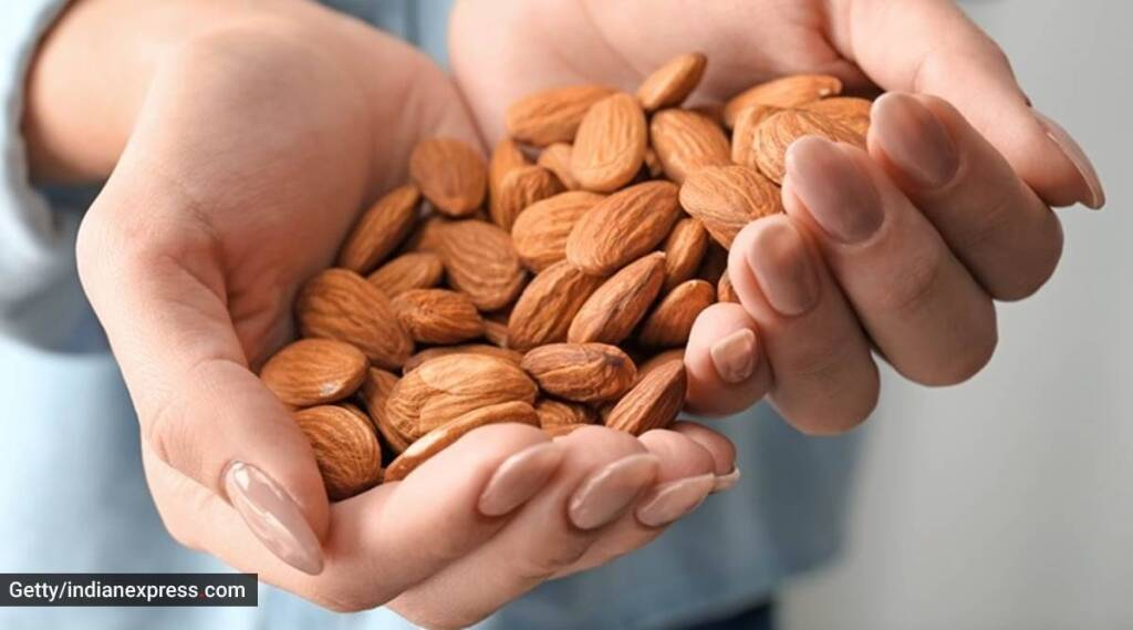 Health benefits of Almonds in tamil: Eating almonds improve blood glucose