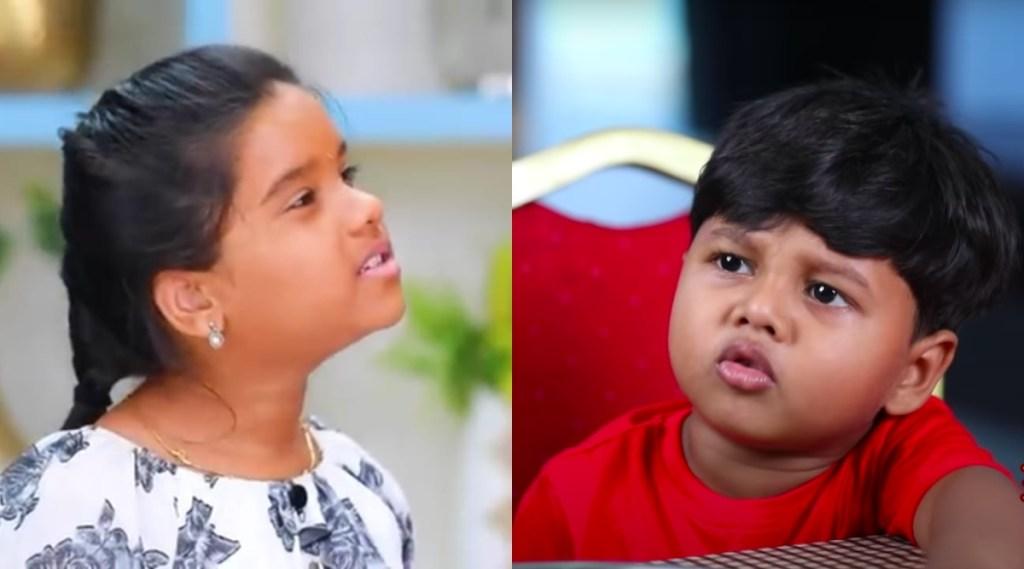 Tamil tv serial news: Bharathi Kannama lisha hema cute dance with thalattu serial kid