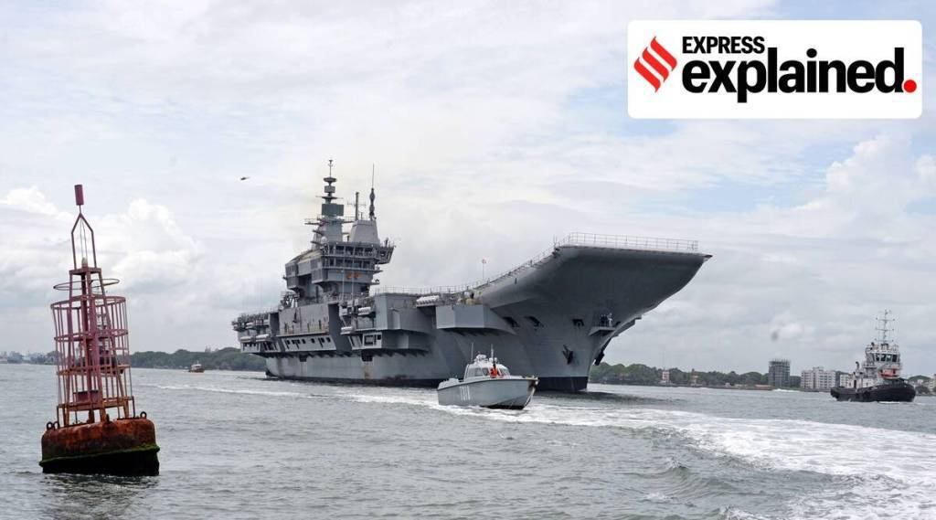 Made-in-India aircraft carrier, IAC-1, Made-in-India aircraft carrier, INS Vikrant