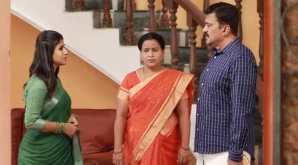 Raja Rani 2 serial, Raja Rani 2 serial today episode, Raja Rani 2 serial story updates, alya manasa, sidhu, parvathy engagement postponed, பார்வதி நிச்சயதார்த்தம் இல்லை, ராஜா ராணி 2 சிரியல், சரவணன், சந்தியா, ஆல்யா மானசா, சித்து, சந்தியா ஐபிஎஸ் கனவு, professor worry to sandhya, sandhya ips dream, vaishnavi sundaram, saivam ravi, parveena, vj archana, raja rani 2 sandhya sravanan misunderstanding, raja rani serial