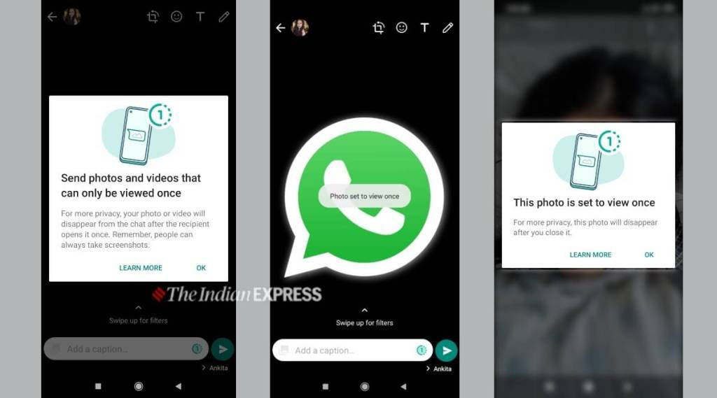 Whatsapp finally adds disappearing photos feature Tamil News