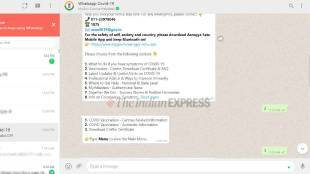 Whatsapp how to download covid19 vaccination certificate guide Tamil News