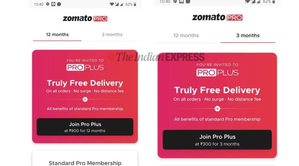 Zomato Pro Plus membership announced unlimited free deliveries Tamil News