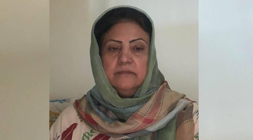 Hawa Alam Nooristani, first female head of Afghanistan's poll panel