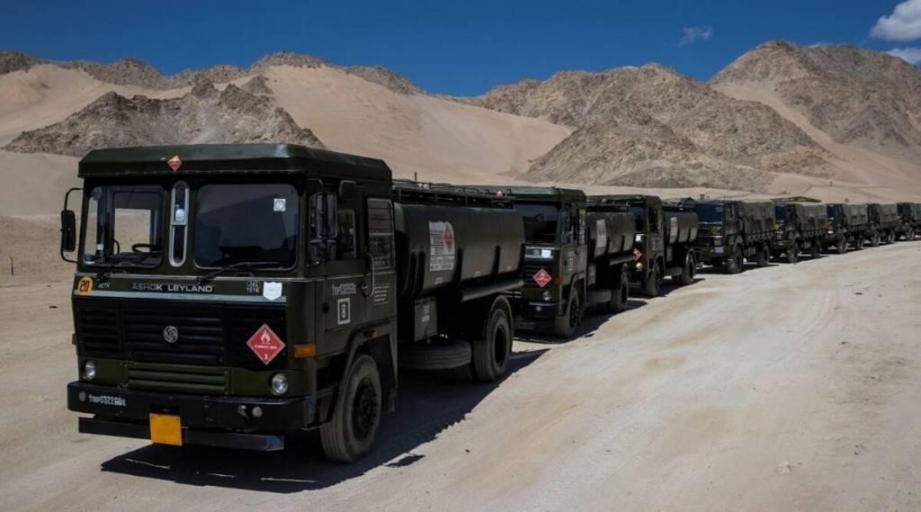 Ladakh standoff India, China