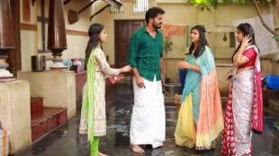 Raja Rani 2 Serial, vijay tv, raja ranai 2 serial today story, Sandhya saves Parvathi from conspiracy, archana sets trap for parvathy, Senthil slaps Archana, public beats vicky, விஜய் டிவி, ராஜா ராணி 2 சீரியல், பார்வதியை சதிவலையில் சிக்க வைத்த அர்ச்சனா, சந்தியா, ஆல்யா மானசா, ராஜா ராணி, விக்கிக்கு தர்ம அடி, sandhya tension, vicky comes to do shaming parvathi, saravanan, sandhya, alya manasa, sidhu, parvathi, vaishnavi sundar, vijay tv, tamil serial news, raja rani 2 today episode