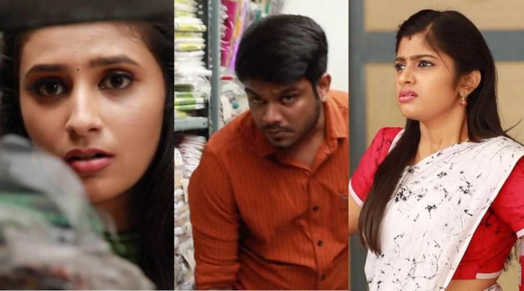 Raja Rani 2 Serial, vijay tv, raja ranai 2 serial today story, archana sets trap for parvathy, விஜய் டிவி, ராஜா ராணி 2 சீரியல், பார்வதியை சதிவலையில் சிக்க வைத்த அர்ச்சனா, சந்தியா, ஆல்யா மானசா, ராஜா ராணி, sandhya tension, vicky comes to do shaming parvathi, saravanan, sandhya, alya manasa, sidhu, parvathi, vaishnavi sundar, vijay tv, tamil serial news, raja rani 2 today episode