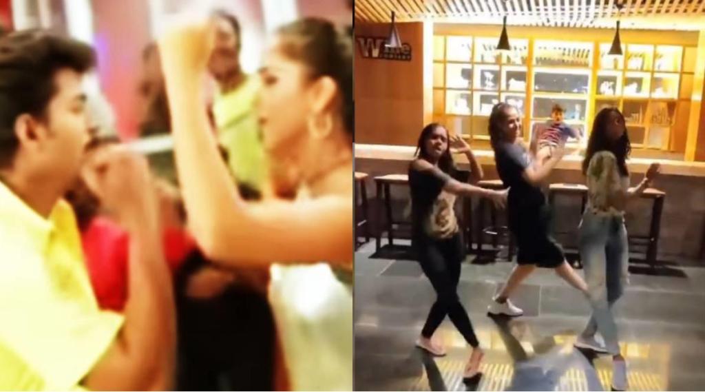 Actress Simran, Actress Simran dace to vijay's youth movie all thotta Boopathy song, all thotta Boopathy song, விஜய்யின் யூத் படத்தின் ஆல் தோட்ட பூபதி பாடல், யூத் விஜ, ஆல் தோட்ட பூபதி பாடலுக்கு டான்ஸ் ஆடிய சிம்ரன், Simran Dance, All thotta boopathi, youth, vijay, simran dance video