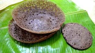 Breakfast Recipe Tamil: Ragi Appam Recipe in Tamil
