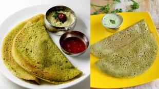 Mudakathan Keerai recipes in tamil: Mudakathan Keerai Dosai making in tamil