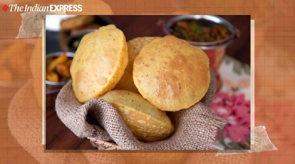 Poori recipe in tamil: how make poori in water in tamil