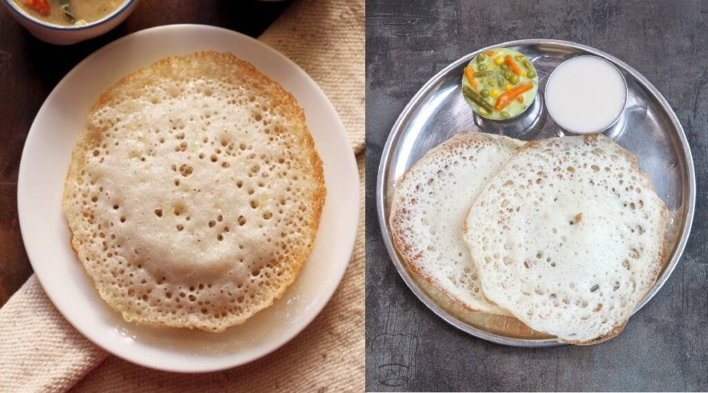 Appam Recipe in Tamil: How to make Appam batter with 3 things