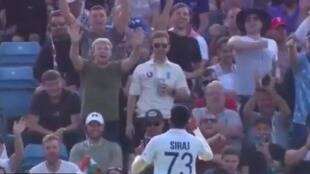 Ind vs eng 3rd test tamil news: English crowd throw ball at Mohammed Siraj viral video