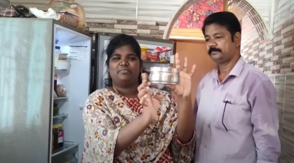 Bigg Boss fame Nisha Fridge Tour Viral Video Tamil News