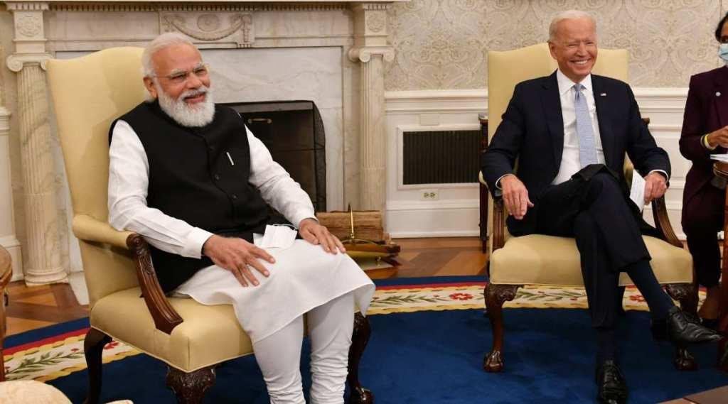 Modi, joe biden meeting