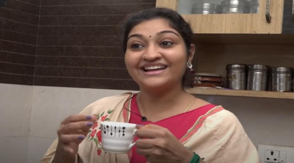 Serial Actress Neelima Rani Different Flowers Tea Recipes Video Tamil News