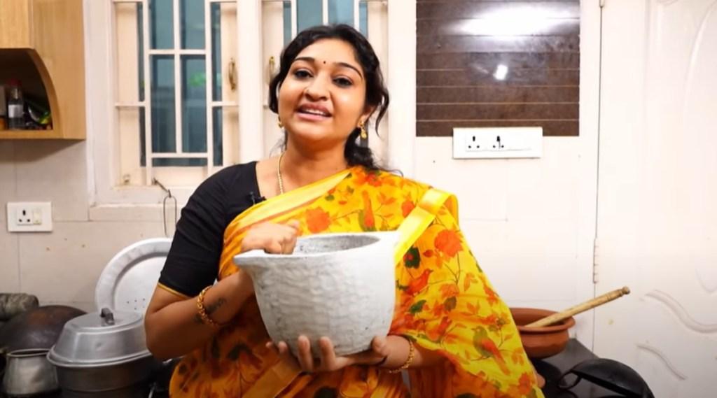 Serial Actress Neelima Rani Kitchen Vessels Viral Video Tamil News