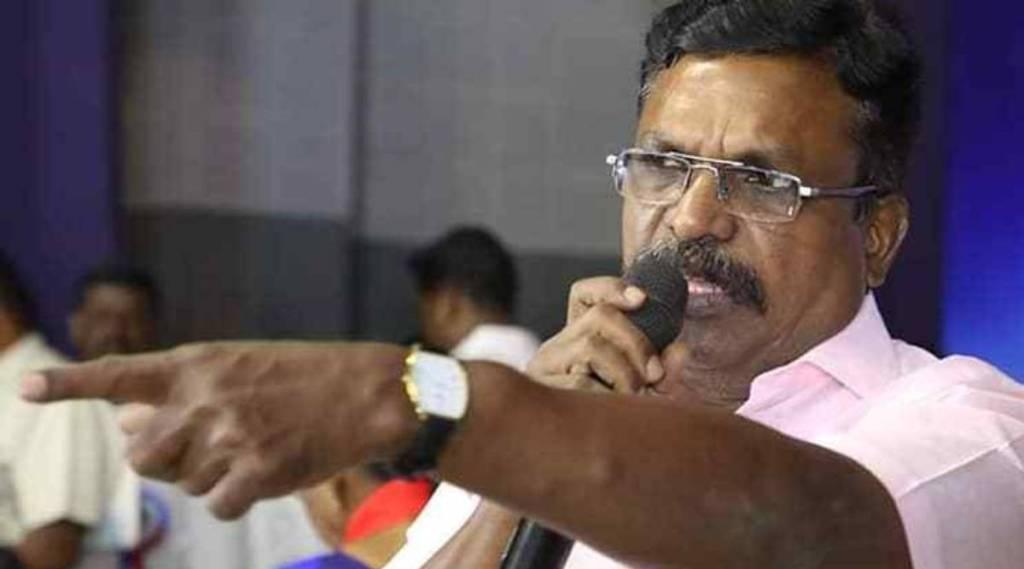 Thirumavalavan MP insulted, Thirumavalavan MP insulted at protest in Chennai, திருமாவளவன் புறக்கணிப்பு, சாதிவாரி கணக்கெடுப்பு கோரி போராட்டம், விசிக, பிசி, எம்பிசி, டிஎண்டி, vck, bc mbc dnt, caste wise census demand protest, thirumavalavan, ayyakannu