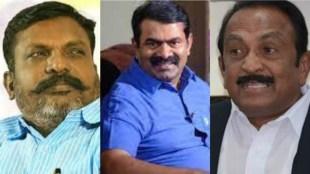Vaiko Thirumavalavan and other Social activists condemn Naam Tamilar on Prof Jeyaraman