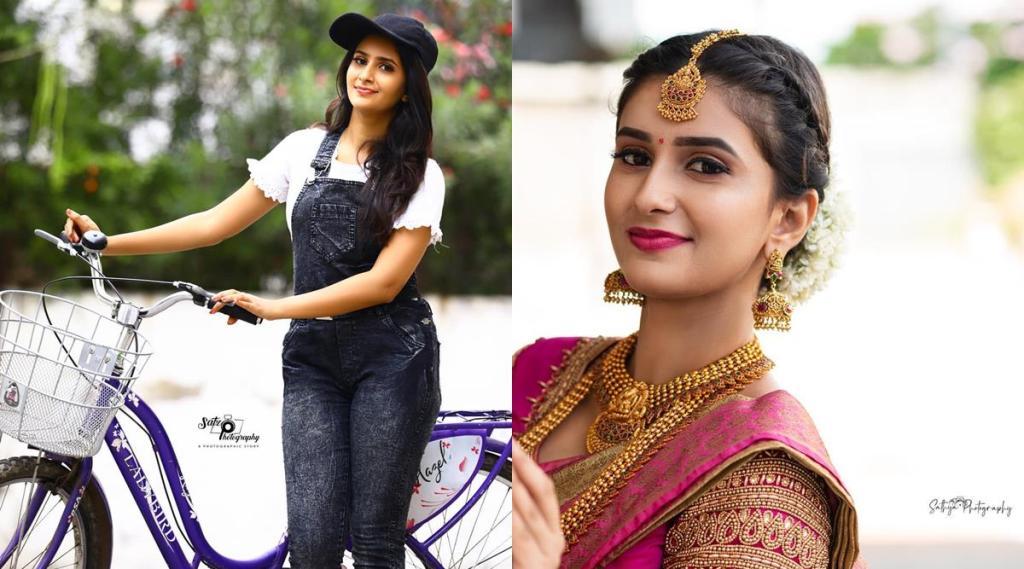Raja Rani 2 serial, raja rani 2 Parvathi, actress Vaishnavi Sundar school age photo, ராஜா ராணி 2 சீரியல், ராஜா ராணி 2 சீரியல் பார்வதி, நடிகை வைஷ்ணவி சுந்தர் புகைப்படம், raja rani, vijay tv