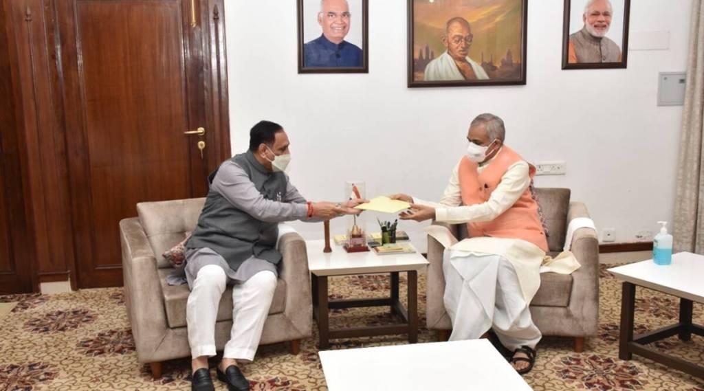 Gujarat CM Vijay Rupani resigns, Who is next CM of gujart, குஜராத் முதல்வர் விஜய் ரூபானி ராஜினாமா, குஜராத்தில் அடுத்த முதல்வர் யார், பாஜக, சி ஆர் பாட்டீல், பட்டிதார், who is next cm in gujarat bjp, bjp, cr paatil, patidar