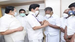 ADMK O Panneerselvam Wife Vijayalakshmi passed away Tamil News